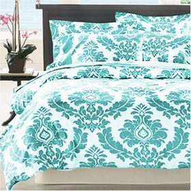 Opus - Craft Damask Fully Reversible Duvet Set