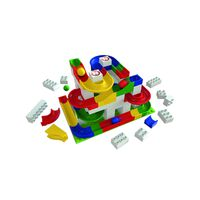 Hubelino - Marble Run - 106 Piece Set (100% Compatible With Duplo)