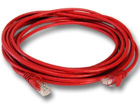 Linkbasic LAN 5m Cable - Red