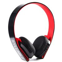 Syllable G600 Wireless Bluetooth 4.0 Headphones - Red And Black