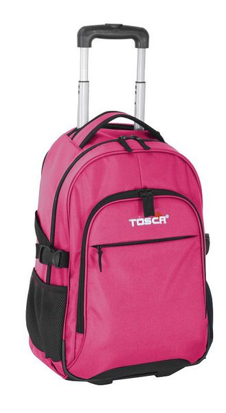Tosca Laptop School Business Trolley - Pink