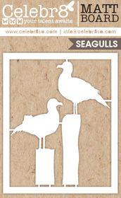 Celebr8 SANDsational Midi Card - Seagulls