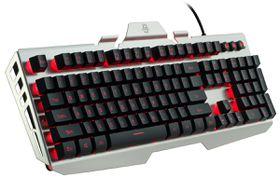 Cliptec 'Nacrono' Usb Led Illuminated Gaming Keyboard