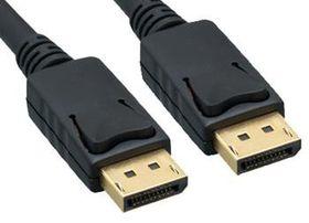 OEM Display Port 0.5m Cable Black