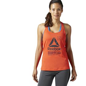Women's Reebok Active Chill Graphic Tank Top