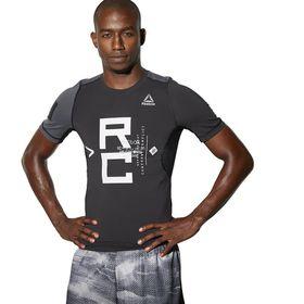 Men's Reebok Combat Short Sleeve Rashguard