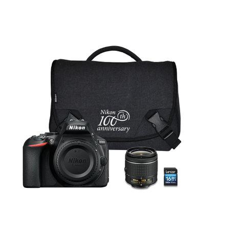 Nikon D5600 24 2MP DSLR Starter Bundle | Buy Online in South