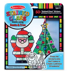 Melissa And Doug Stained Glass - Christmas Ornaments