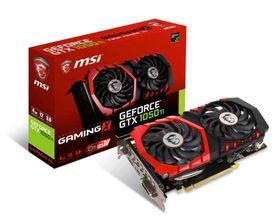 MSI GeForce GTX 1050 TI X Gaming Graphics Card - 4GB