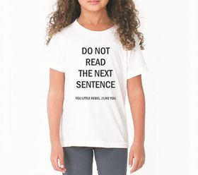 OTC Shop Do Not Read T-Shirt