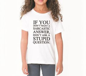 OTC Shop Sarcastic Answer T-Shirt