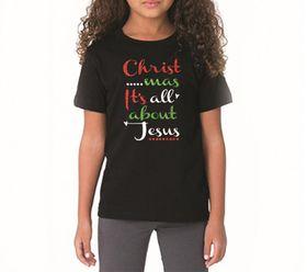 OTC Shop Christmas It's all about Jesus T-Shirt