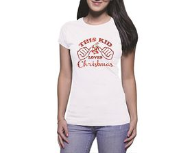 OTC Shop This Kid Loves Christmas T-Shirt