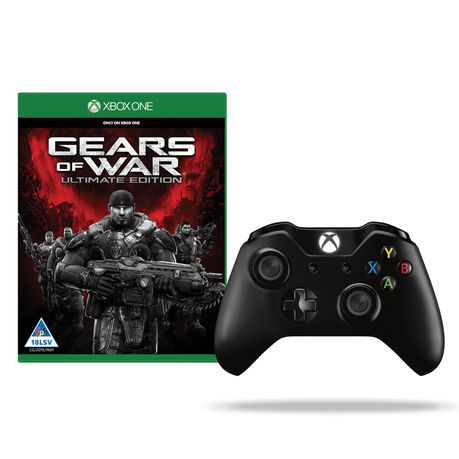 Wireless Controller + Gears Of War: Ultimate Edition (Xbox One Exclusive)