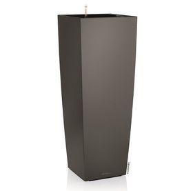 Lechuza - Cubico Alto Premium 40 - Charcoal Metallic