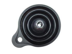 Leisure-quip - Foldaway Silicone Funnel - Black