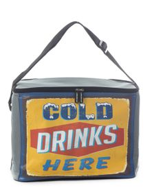 Leisure-quip - 30 Can Retro Soft Cooler Bag - Cold Drinks Here
