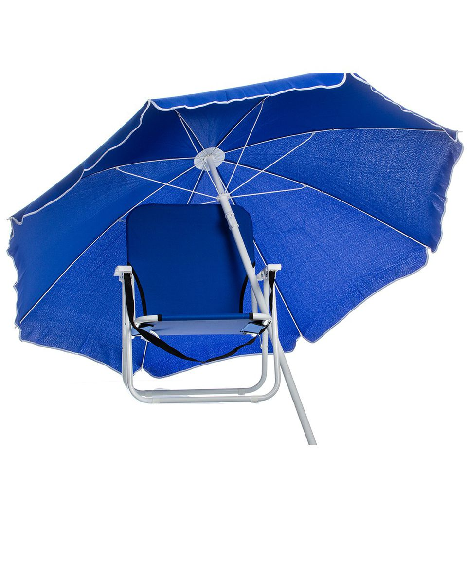 free vector chair beach and royalty umbrella image
