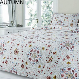 Simon Baker - Autumn Quilted and Printed Comforter Set