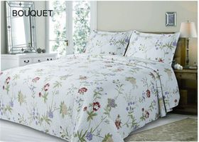 Simon Baker - Bouquet Quilted and Printed Comforter Set