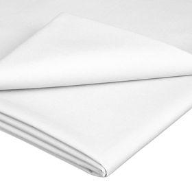 Simon Baker - TC200 Poly Percale Queen Flat Sheet - White
