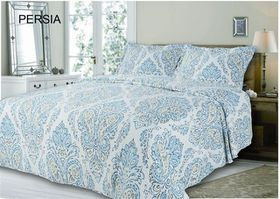 Simon Baker - Quilted and Printed Persia Comforter Set