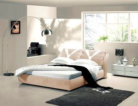 Simon Baker - Taupe Suede Bed Base Wrap