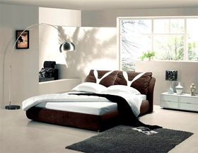 Simon Baker - Chocolate Suede Bed Base Wrap