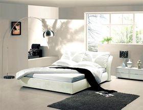 Simon Baker - Cream Suede Bed Base Wrap