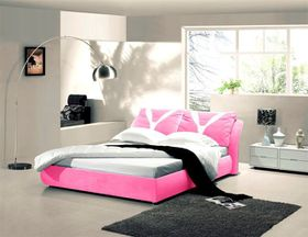 Simon Baker - Pink Suede Bed Base Wrap