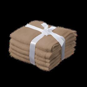 Simon Baker - 100% Egyptian Cotton Hand Towel - Stone
