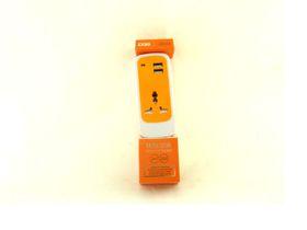 C84-Dual Usb Socket Ornge