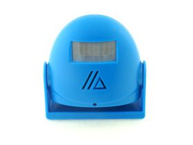 C84-Blue Greeting Warning Doorbell