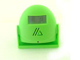 C84-Green Greeting Warning Doorbell