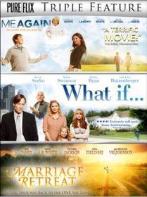 Triple - Me Again / What If / Marriage Retreat (DVD)