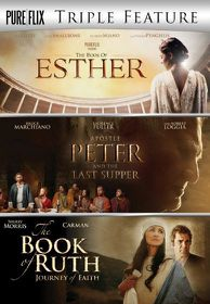 Triple - Book of Esther / Apostle Peter / Book of Ruth (DVD)