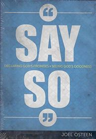 Joel Osteen - 'Say So' Declaring Gods Word, Seeing Gods Goodness (DVD)