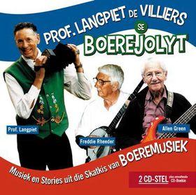 Prof Langpiet De Villiers - Boerejolyt (CD)