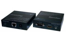 Aavara PE3D4K100A Sender + Receiver - 1080p + internet Broadcaster/Extender with POE Support