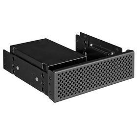 """Lian-li BZ-525 Black 4x 2.5""""- >5.25"""" Mounting Bracket"""