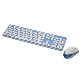 Lian-li KB-01 Wireless Keyboard - White & Blue