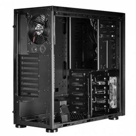 Lian-li PC-7FNWX Windowed Midi Tower - All Black