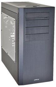 Lian-li PC-A61WX Midi Tower Windowed, No PSU - All Black