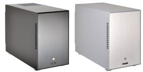 Lian-li PC-M25 Silver Mini Tower, No PSU