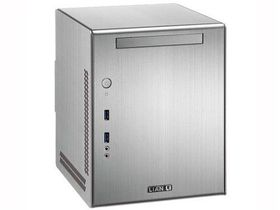 Lian-li PC-Q03 Silver Mini-ITX Chassis, No PSU
