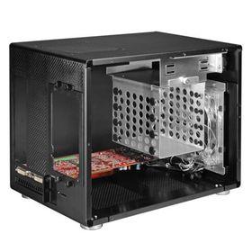 Lian-li PC-Q08 Black Mini-ITX Chassis, No PSU