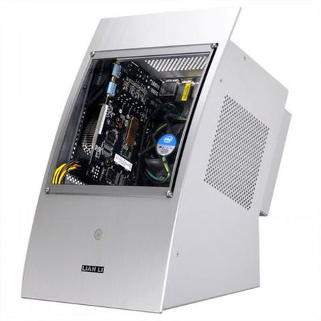 Lian-li PC-Q30 Silver Mini-ITX Chassis Windowed