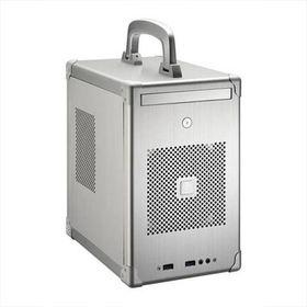 Lian-li PC-TU100 Mini-ITX/Mini-DTX Chassis - Silver
