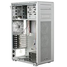 Lian-li PC-X900 Sil Windowed Midi Tower, No PSU