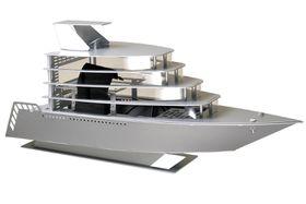 Lian-li PC-Y6 Yacht Case - Silver